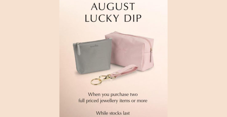 August Lucky Dip at Pandora