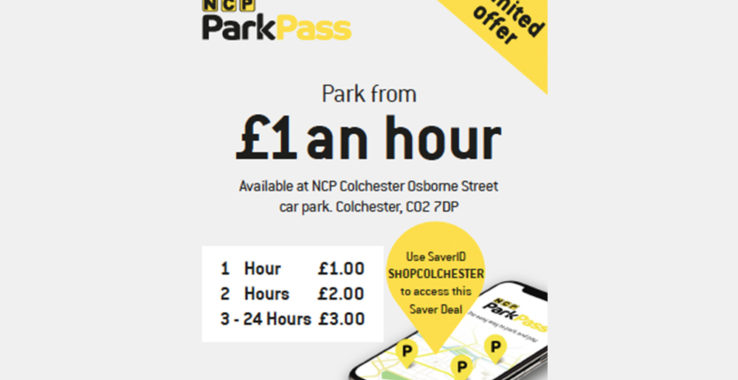 Park for £1 an hour Shopping