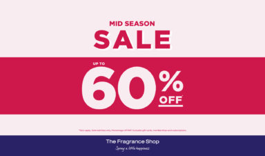 Mid Season Sale at The Fragrance Shop