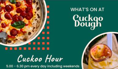 £5 Cocktails at Cuckoo Dough at Cuckoo Dough