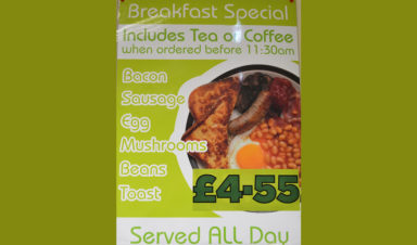 Breakfast Special at Slice