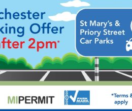 £2 Parking After 2 pm! See & Do