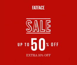 Extra 10% sale! at Fat Face