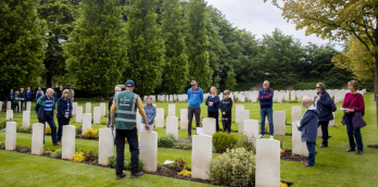 Commonwealth War Graves - 70th Anniversary Tours