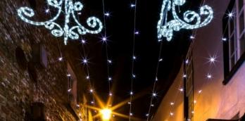 Knaresborough Christmas Market Fireworks Finale