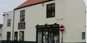 Drakes Fish and Chip Shop, and Restaurant, Ripon