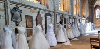 Wedding Gown Show at Ripon Cathedral