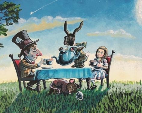 Alice in Wonderland, Ripon Spa Gardens
