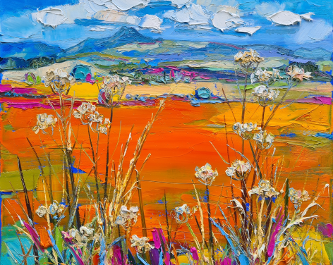 Solo Exhibition by Judith Bridgland entitled Escape to the Country