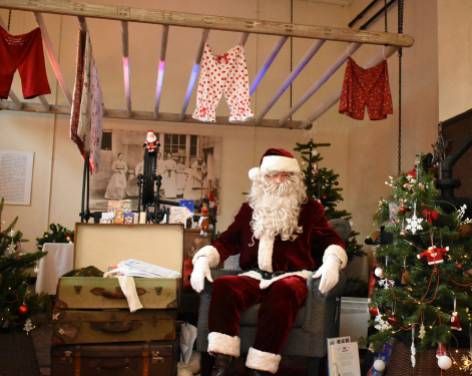 Storytime with Father Christmas at Beningbrough Hall