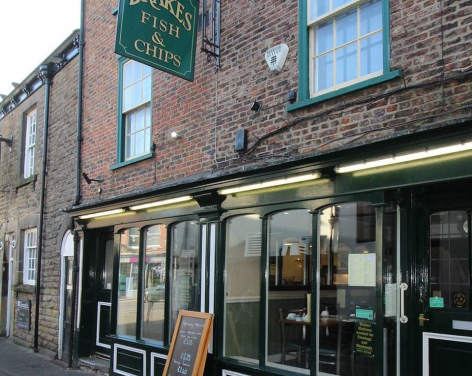 Drakes Fish and Chip Shop and Restaurant, Knaresborough