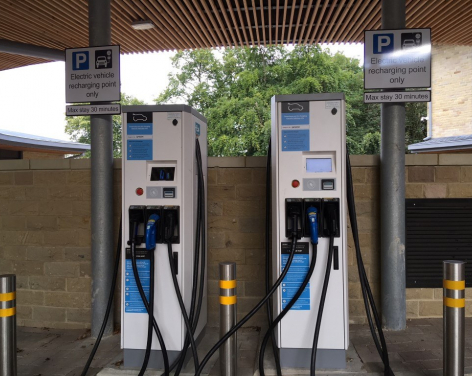 Civic Centre Electric Vehicle Charging Point
