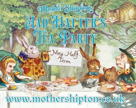 Mad Hatter's Tea Party at Mother Shipton's