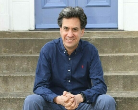 Go big how to fix our world with Ed Miliband