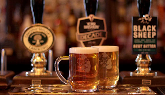 Content Real Ales White Hart