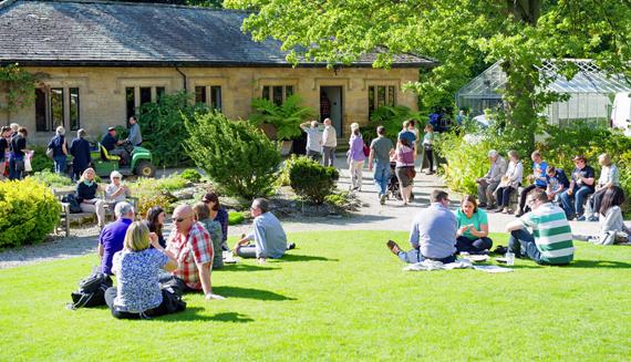 Content garden events RHS beer fest