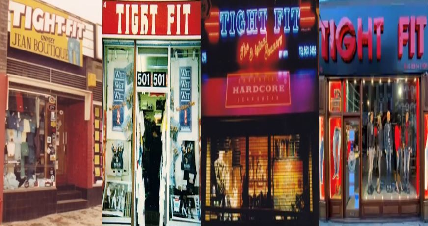 Shop Front Over the Years