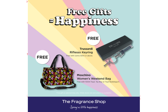 Free Gift = Happiness