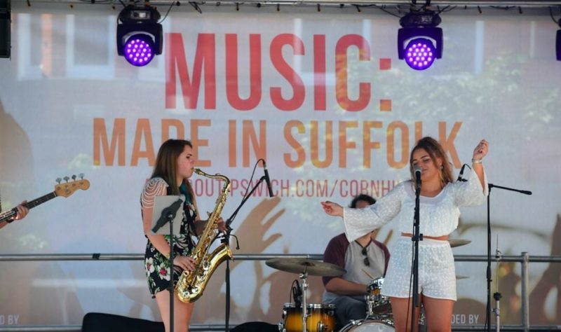 Free Summer Music Festival on Cornhill 02 Oct