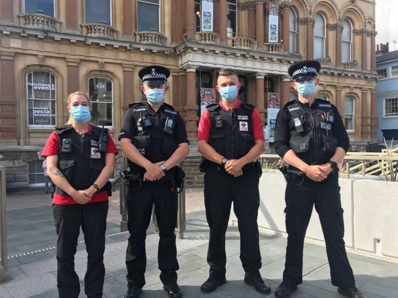 Street Rangers work with the NEW police Kestrel Team 24 Aug