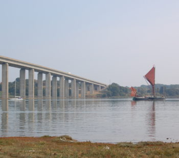 £1m lost when Orwell Bridge closes 14 Jan