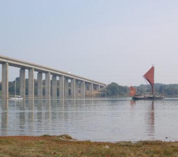 £1m lost when Orwell Bridge closes 14 Jan