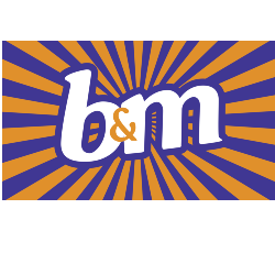 B&M (Metro Retail Park) Logo