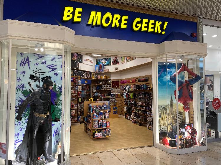 Be More Geek!