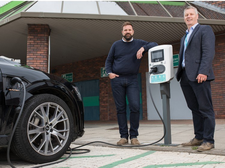 Our New Electric Vehicle Charge Points