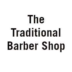 The Traditional Barber Shop Logo