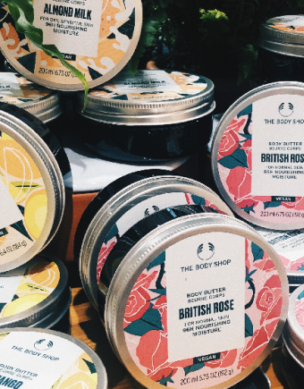 The body shop body butter 750 X560