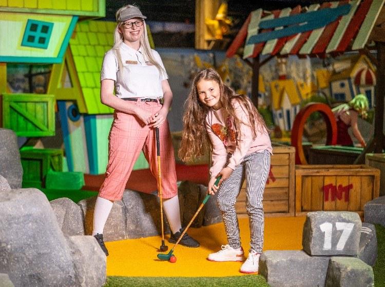 2 for 1 crazy golf