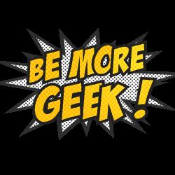 Be More Geek! Logo