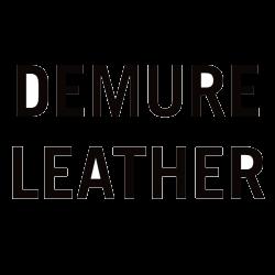 Demure Leather Logo