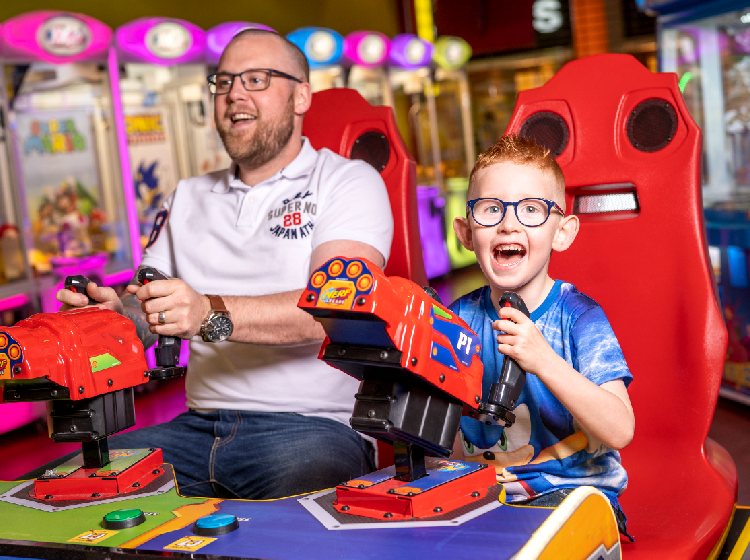 £5 per game of Bowling at Namco Funscape (Student Discount)