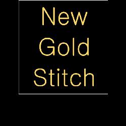 New Gold Stitch Logo