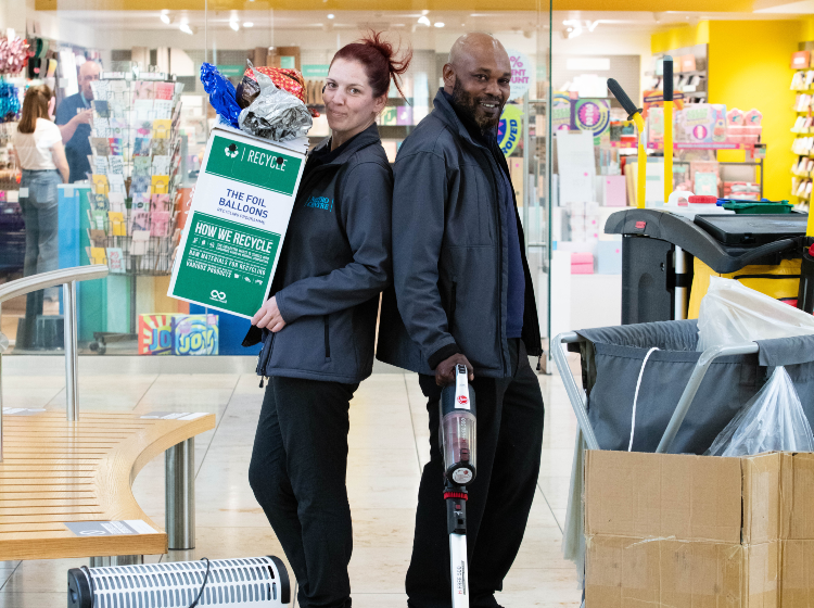 National Recycling Week at Metrocentre