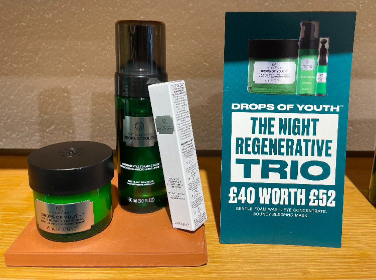 Drops of Youth Night Regime Regenerating Trio for £40