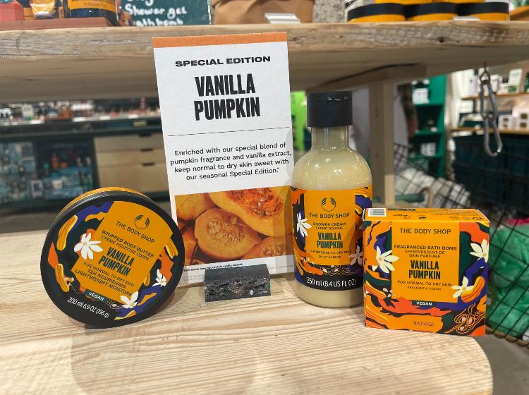 Vanilla Pumpkin Bundle for £18 (worth £29.50)
