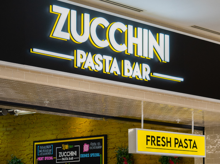 Zucchini pasta bar now open at Metrocentre