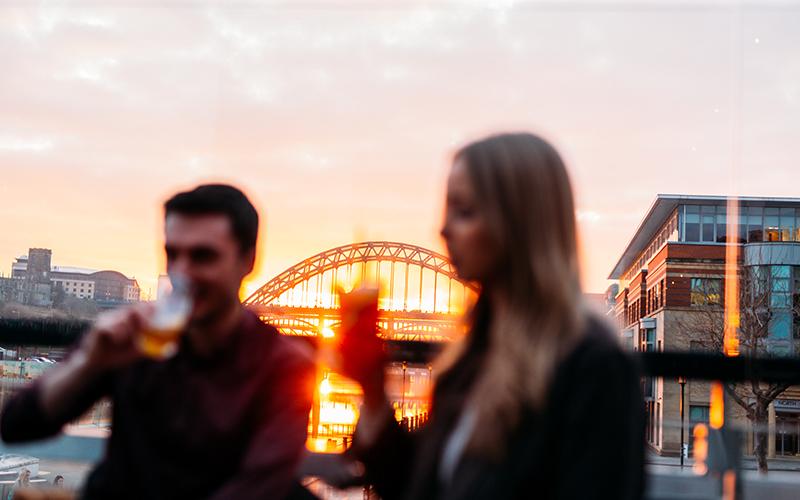 10 Bars on Newcastle Quayside