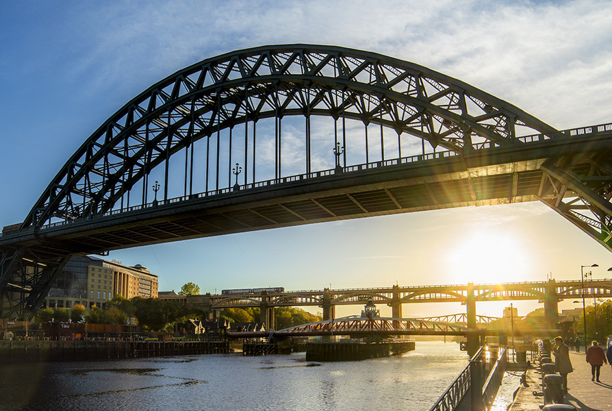 Tyne Bridge C Newcastle Gateshead Initiative