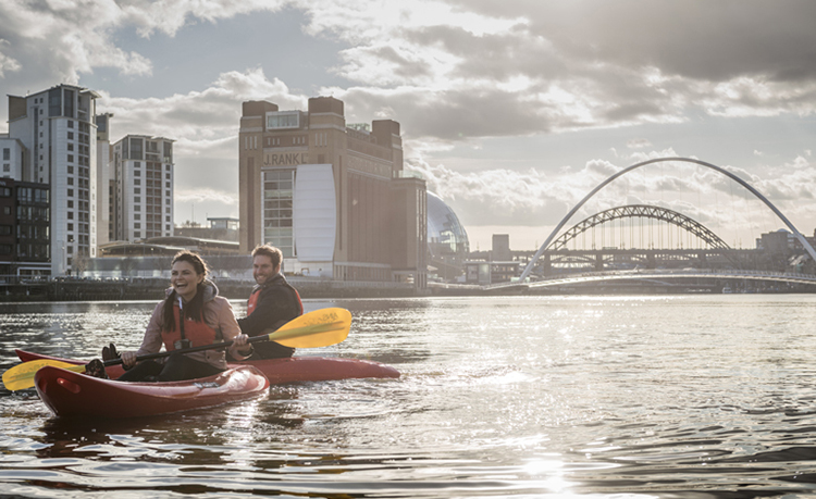 CBK Adventures on the River Tyne Newcastle Gateshead Quayside