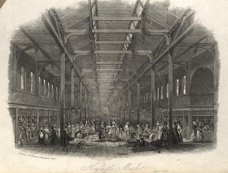 Grainger Market Newcastle Historical photo C Newcastle City Council