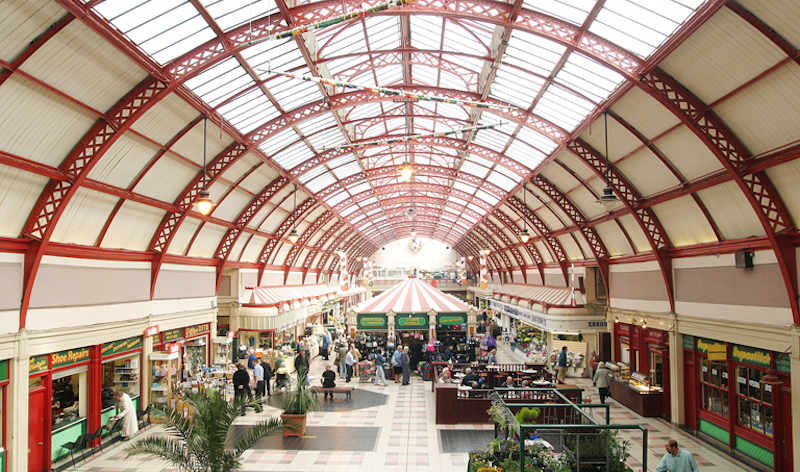 Newcastle's Grainger Market at 185