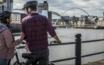 Cycling Routes in NewcastleGateshead