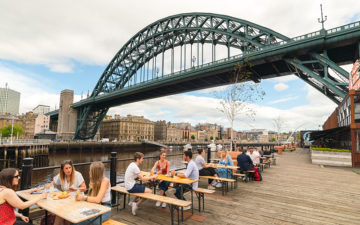 10 Restaurants on Newcastle Quayside