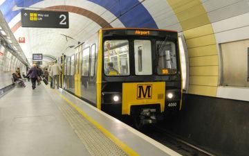 Nexus Tyne and Wear Metro Map