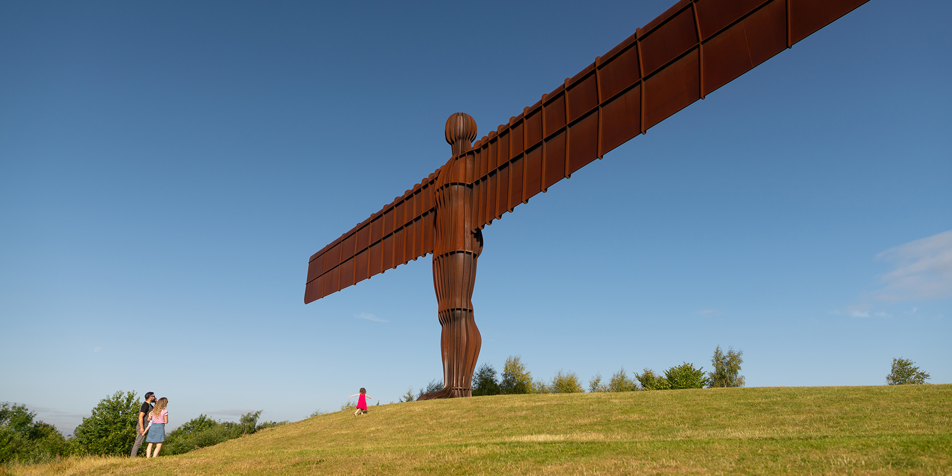 Angel of the North summer
