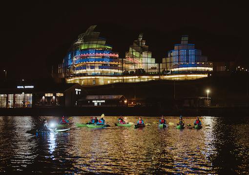 CBK Adventure experiences on River Tyne